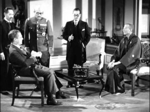 Nick meets with the sinister Baron Tanaka and Colonel Tojo