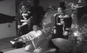 Baron Tanaka's eerie seppuku