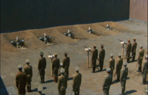 The execution of Captain Miyagi and the Young Officers