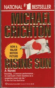 Rising Sun paperback by Michael Crichton