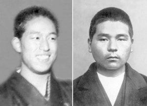 Sho Onuma and Goro Hishinuma