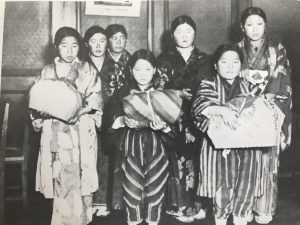 Japanese Tohoku Girls rescued from prostitution by Salvation Army